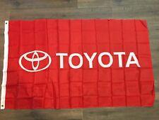 Toyota Red  Flag Car Racing Banner Flags 3x5 Indoor Outdoor Garage US SELLER