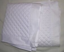 006O TWO King Size WHITE DIAMOND QUILTED DAMASK Charter Club PILLOW Shams NWOT