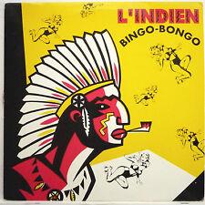"BINGO BANGO -- L'INDIEN ---------- BRUNO SANCHIONI -- 12"" MAXI SINGLE 1992"