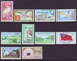 Samoa 1962 SC 223-232 MH Set Independence