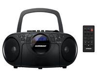 Portable CD/MP3/USB/AUX/ Boombox Radio Cassette Recorder KORAMZI CD705 - New