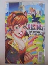Marvel Rising Alpha Squirrel Girl & Ms. Marvel #1 Connecting Variant Marvel N...