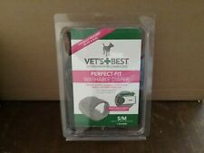 Vet's Best 1 Count Perfect Fit Washable Female Dog Wrap, Small/Medium