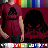 Evil Star Wars Darth Vader Cool Awesome Dark Mens Crew Neck Tee Unisex T-Shirt