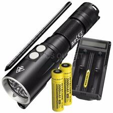 NITECORE DL10 1000 Lumen Diving Light, 2x 3500mAh 18650, UM20 Battery Charger