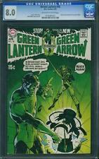 Green Lantern #76 CGC 8.0 DC 1970 Neal Adams! Movie! cm