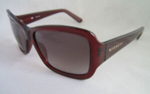 GIVENCHY SUNGLASSES WOMEN'S SGV 687 BORDEAUX 0954 BNWT GENUINE