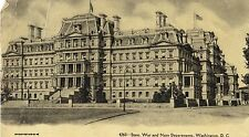 4260 - STATE, WAR AND NAVY DEPARTMENT, WASHINGTON, D.C POST DATED POSTCARD 1907