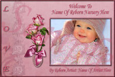 ~~PINK ROSE REBORN BABY AUCTION TEMPLATE WITH FREE LOGO~~  DOUA