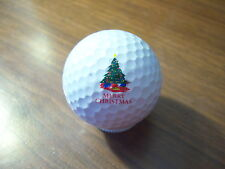 Logo Golf Ball-Merry Christmas.Tree Logo.New!