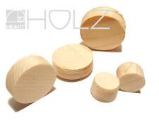 Holzstopfen Fichte Holzproppen Abdeckplättchen 15 bis 40mm