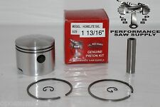 "HOMELITE SUPER XL, BIG RED, OLD BLUE, 10045, PISTON KIT 1 13/16"" , PART # A63648"