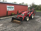 2018 TYM T273 4x4 Hydro 27Hp Compact Tractor Loader Backhoe w/ Only 100Hrs!