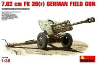 Miniart 1:35 7.62 cm FK 39(r) German Field Gun Model Kit