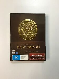 NEW MOON (TWILIGHT) LIMITED COLLECTORS EDITION 3 DISC DVD | Inc Collector Cards