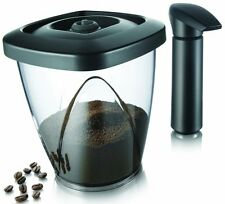 Vacu Vin Coffee container air tight vacuum 1.3ltr 500gr pump included