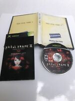 Fatal Frame 2: Crimson Butterfly Directors Cut Xbox, Manual Included, US Version