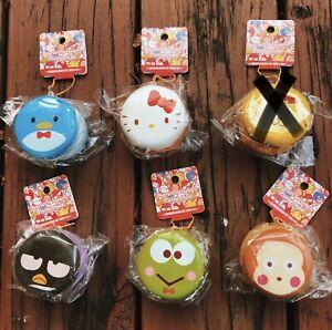 Rare Sanrio Characters Petit Cake Squishy Bundle Set Lot