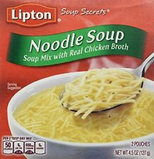 Lipton Soup Secrets Noodle Soup with Real Chicken Broth, 5 Count