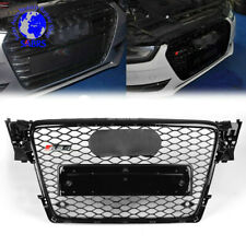 RS4 Front Gloss Black Sline Euro  Grille For Audi A4 S4 B8 8K Avant 09-12