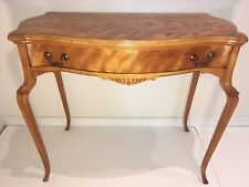 Stunning Early 20th Century Maple Side Table in the French Style