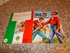 ALBUM VITA DI GARIBALDI LAMPO/FLASH 1982 COMPLETO DA EDICOLA TIPO PANINI EDIS