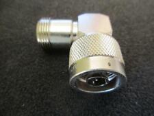 Amphenol N Adapter 82-213 Right Angle Plug to Jack (M-F)