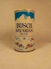 Busch Bavarian 4 City Zip Top Old Beer Can