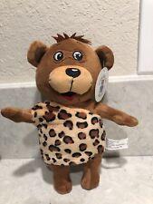 Civilization Bears Caveman Plush Stuffed Teddy Bear With Prehistoric Outfit A10