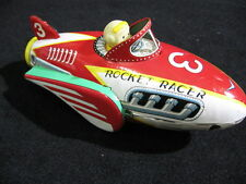 Genuine 1950's Tin Litho Masudaya Rocket Racer Made in Japan