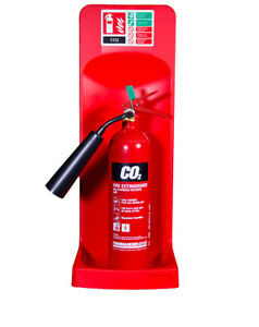 NEW SINGLE FIRE EXTINGUISHER STAND - RED
