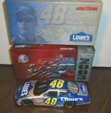 NEW ACTION 2003 JIMMIE JOHNSON #48 LOWES CHEVROLET MONTE CARLO 1/24, MINT BOX
