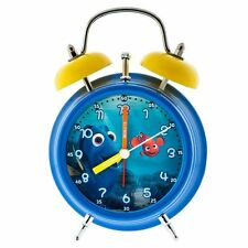 Disney Pixar Finding Dory Analog Alarm Light Up Clock Blue Multi NEW