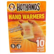 HOT HANDS HAND WARMERS | 2 Per Pack Twin Pack | Up to 10 Hours Heat | Free Post