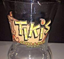 Tikis Tiki Grill and Bar Waikiki Hawaii Hurricane Glass Cocktail