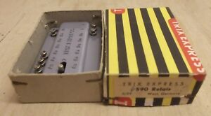Trix Express 590 Relay From 06/59 Sauber Tested Boxed