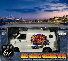 "Highway 61 Chevrolet 1974 Custom White ""Keep On Truckin"" Van NEW BUT PLEASE READ"
