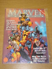MARVEL MONTHLY CATALOGUE #2 1998 AUG VF US MAGAZINE WOLVERINE X-MEN