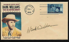 1950s Hank Williams Sr Country Music Limited Edition Collector's Envelope *OP239