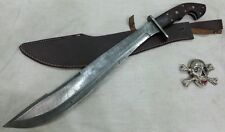 Custom made Beautiful Real Steel's Damascus Machete sword