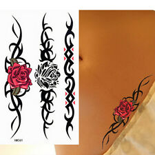 Roses temporary tattoos Waterproof temporary sticker sexy women PRC