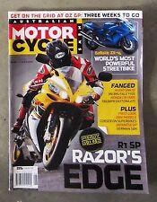 Motorcycle News AMCN Sept 2005 - CB 1300 THRUXTON VTX 1800 R1 DAYTONA 675 AGUSTA
