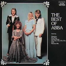 ABBA - The Best Of ABBA Vinyl LP 60's 70's Pop Rock Sticker or Magnet