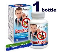BoniAncol, 01 box x 60 capsules, Reduce Cravings Alcohol,Drug, Other Addictive