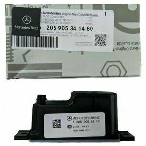 Mercedes W222 S350 S320 S450 S500 S550 63 Voltage Converter Genuine OEM NEW