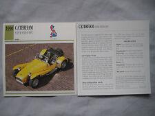 Caterham Super Seven HPC Collectors Classic Cars Card