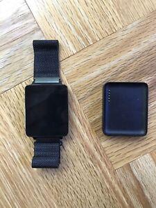 LG G Watch 38mm Stainless Steel Case Model W100