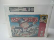 New VGA Graded Monopoly Nintendo 64 N64  Factory Sealed Game Complete In Box CIB