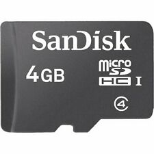 SanDisk 4GB Micro SDHC Class 4 TF Memory Card - SDSDQM-004G