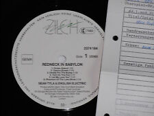 SEAN TYLA & ENGLISH ELECTRIC -Redneck In...- LP Zilch Archiv-Copy mint